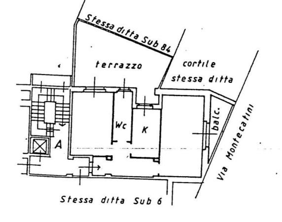 Vendita  bilocale Milano Via Montecatini 1 638479