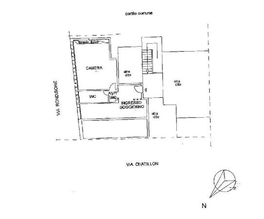 Vendita  bilocale Torino Via Chatillon 1 643193