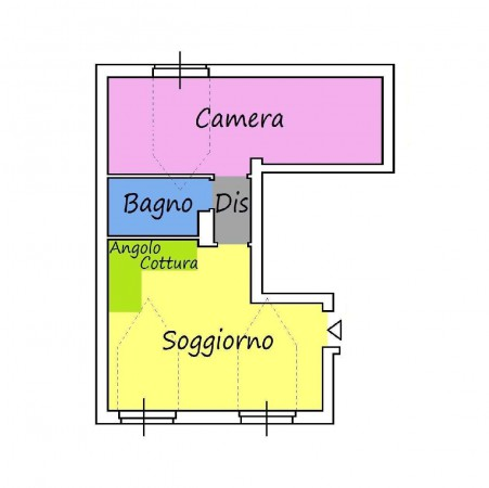 Vendita  bilocale Milano Via Cesare Ajraghi 1 897888