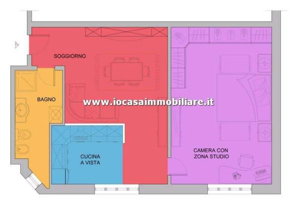 Vendita  bilocale Milano Corso Lodi 1 657768