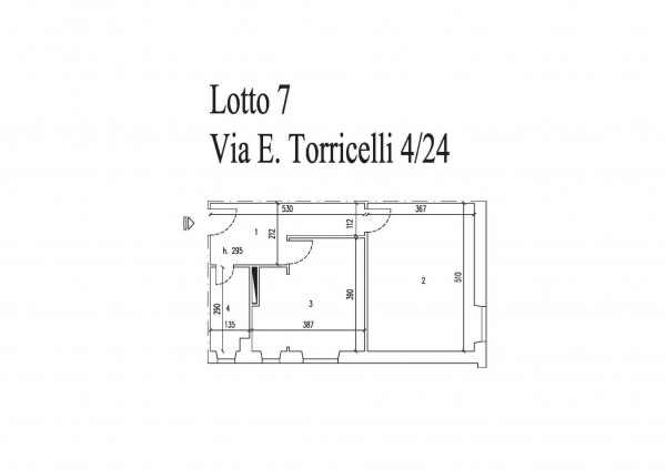 Vendita  bilocale Genova Via Evangelista Torricelli 1 671249