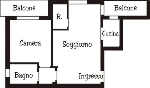 Vendita  bilocale Trezzano sul Naviglio Viale Leonardo Da Vinci 1 871128