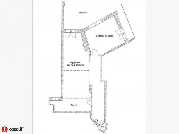 Vendita  bilocale Cinisello Balsamo Appartamento In Vendita Via Garibaldi, Cinisello Balsamo 1 839065
