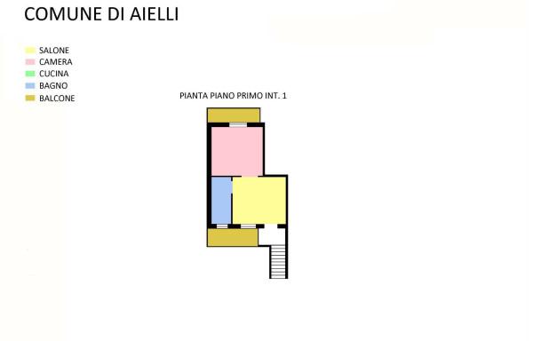 Affitto  bilocale Aielli Via Fucino 1 853670