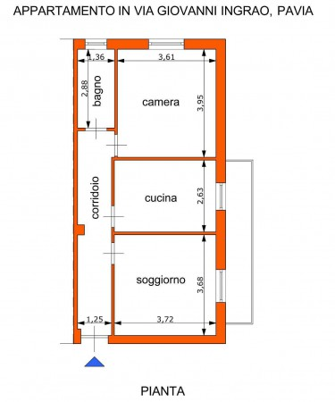 Vendita  bilocale Pavia Via Giovanni Ingrao 1 843491