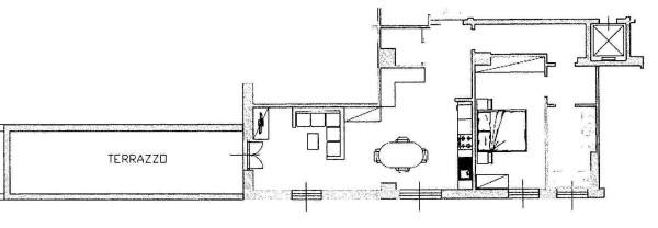 Vendita  bilocale Milano Viale Cassiodoro 1 873841