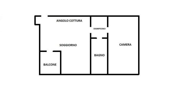 Vendita  bilocale Parabiago Via Emilia 1 841334