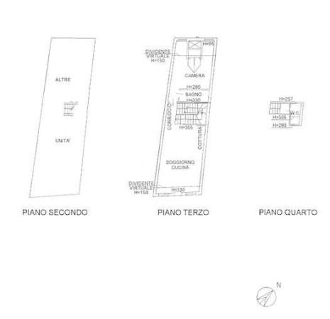 Vendita  bilocale Padova Via Ospedale Civile 1 845073