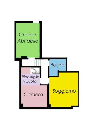 Vendita  bilocale Milano Via Privata Ludovico Cavaleri 1 880574