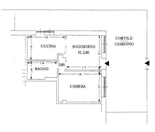 Vendita  bilocale Sanremo  1 836566