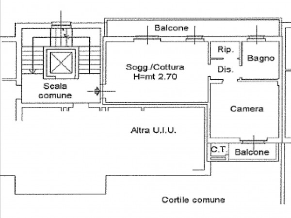 Affitto  bilocale Ossona Via Iv Giugno 1 1389559