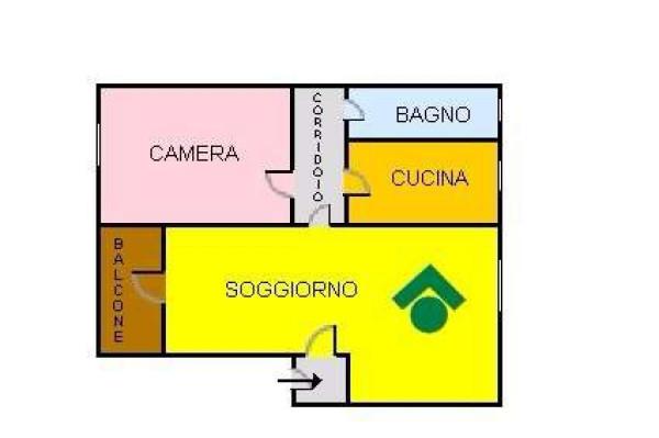 Vendita  bilocale Milano Via Jacopino Da Tradate 1 879490