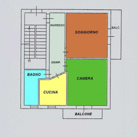 Vendita  bilocale Roseto degli Abruzzi Via Alessandro Manzoni 1 879541