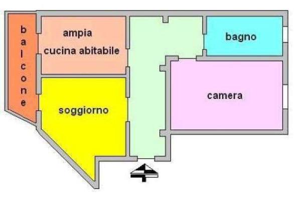 Vendita  bilocale Sesto San Giovanni Via S. Giovanna D'arco, 200 1 874100