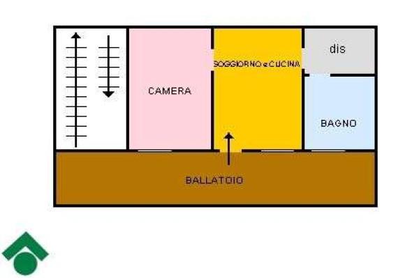 Vendita  bilocale Pinerolo Via Saluzzo 1 834278