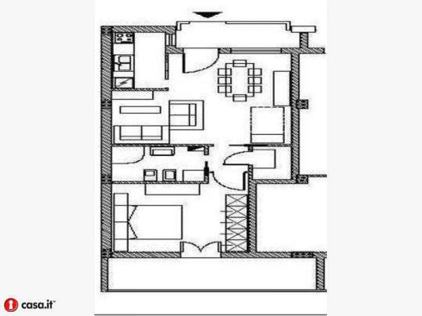 Affitto  bilocale Monteroni di Lecce Via Martiri Via Fani 1 1014436