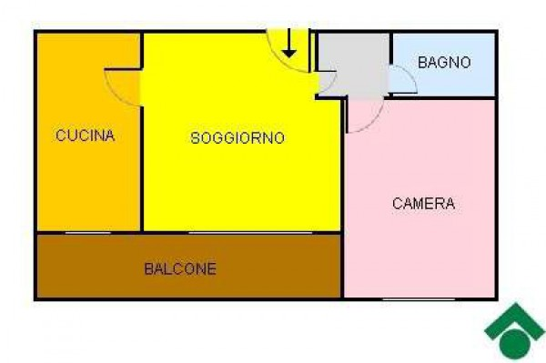 Vendita  bilocale Milano Via Castellanza 1 904542