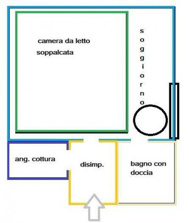 Vendita  bilocale Bari Via Nicolò Pisani 1 874751