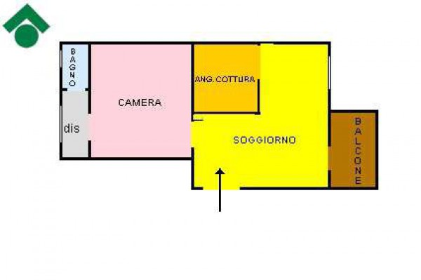 Affitto  bilocale Pinerolo Via Geymet 1 880732