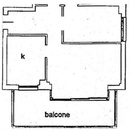 Affitto  bilocale Lucca Via Romana 1 488249