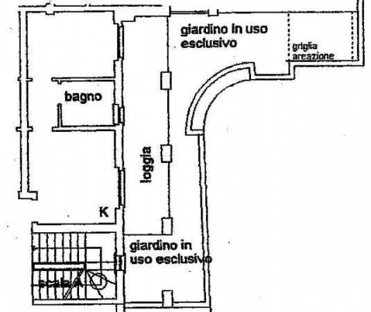 Vendita  bilocale Busto Arsizio Via Giuseppe Verdi 1 906988