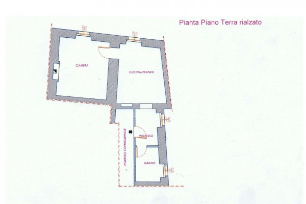 Vendita  bilocale Cortona Via Maffei 1 909676