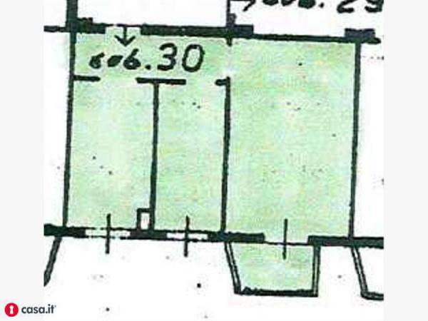 Vendita  bilocale Milano Giardini Di Via Grazioli 1 1011768