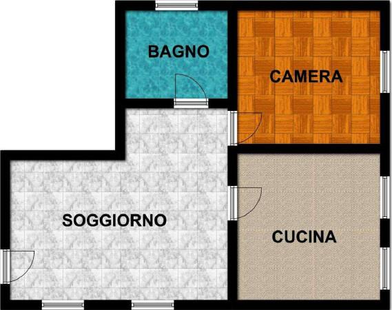 Affitto  bilocale Vittuone Piazza Italia 1 916007