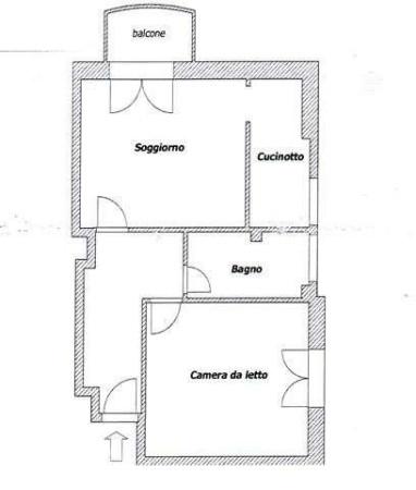 Vendita  bilocale Cinisello Balsamo Via Oreste Terenghi 1 873086