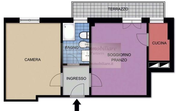 Vendita  bilocale Milano Via Fezzan 1 923851