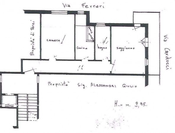 Vendita  bilocale Sesto San Giovanni Via Cardinal Ferrari 1 931722