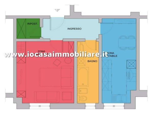 Vendita  bilocale Milano Via Carlo Marochetti 1 934380