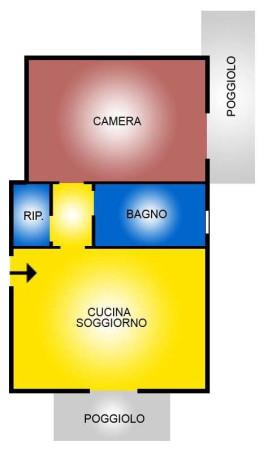 Vendita  bilocale Vicenza Viale Riviera Berica 1 1020212