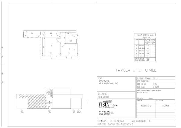 Vendita  bilocale Genova Via Antonio Burlando 1 673623