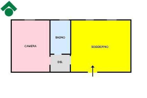 Vendita  bilocale Rescaldina Via Alberto Da Giussano, 54 1 942178