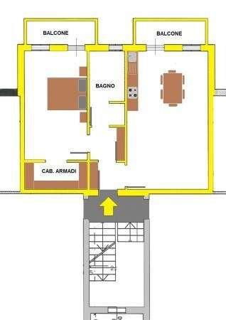 Vendita  bilocale Torrile Via Giacomo Matteotti 1 623262