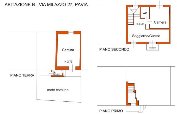 Vendita  bilocale Pavia Via Milazzo 1 944190