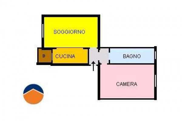 Vendita  bilocale Torino Via Giacomo Dina, 38 1 936104