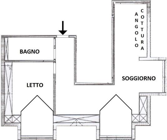 Vendita  bilocale Riva Ligure Vico San Maurizio 1 960712