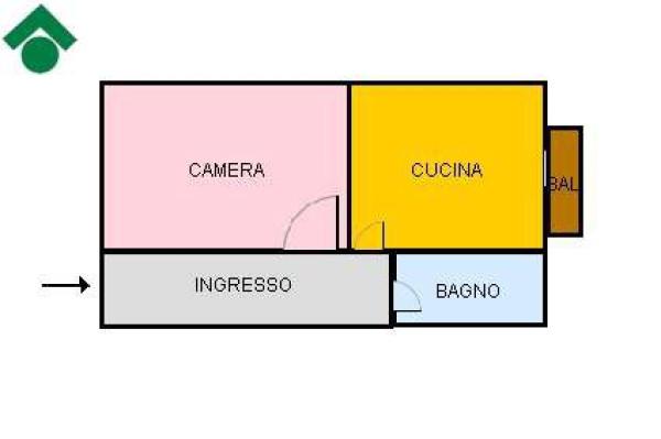 Vendita  bilocale Bologna  1 967413