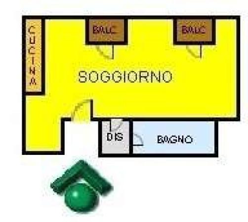 Vendita  bilocale Milano Via Belluno, 29 1 909775