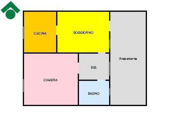 Vendita  bilocale Rescaldina Via Giuseppe Garibaldi, 36 1 1002493