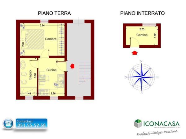 Vendita  bilocale Bologna Via Della Cà Bianca 1 995228
