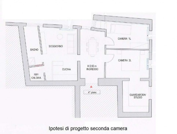 Vendita  bilocale Venezia  1 995512