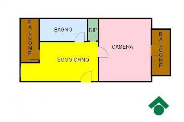 Vendita  bilocale Torino  1 995617