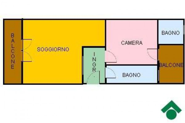Vendita  bilocale Torino  1 1045940