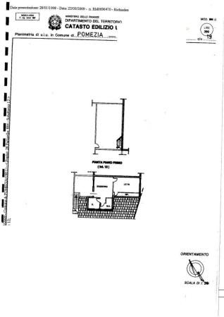 Vendita  bilocale Pomezia Via Volterra 1 998394