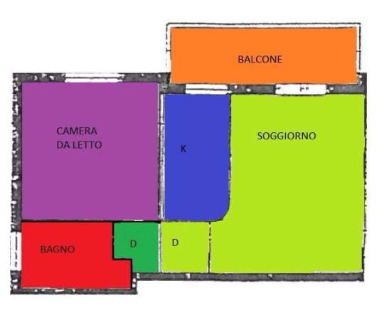 Vendita  bilocale Castelfranco Emilia Via Dei Mille 1 898223