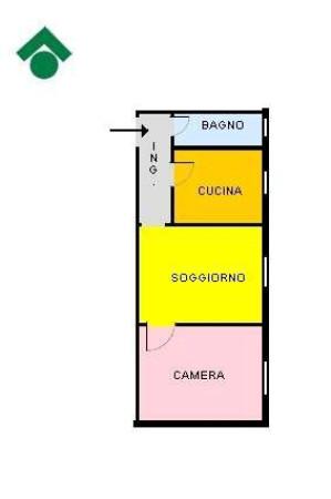 Vendita  bilocale Cesano Boscone Via Trieste, 19 1 1002490