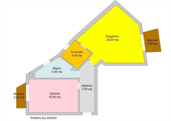 Vendita  bilocale Luserna San Giovanni Viale De Amicis 1 1004693